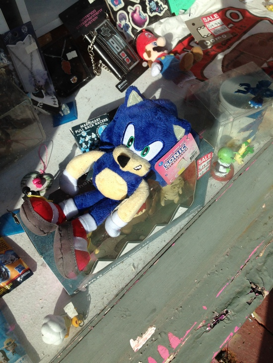 Not very good looking Sonic