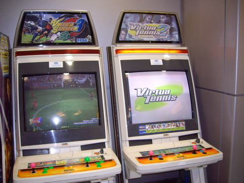 borne arcade virtua striker 4